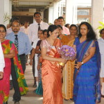 Farewell to Director Dr (Mrs) C Gunathilaka